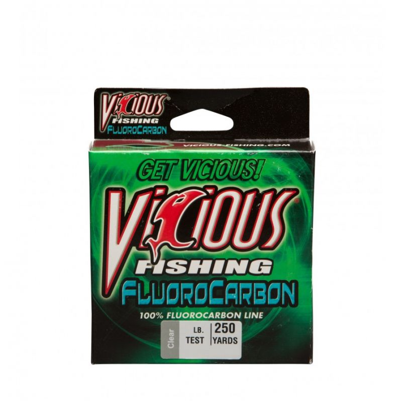 Vicious 100% Fluorocarbon 800 Yards