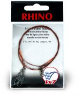 0,33mm Rhino Steel Trace 1x7 0,7m 13kg 2 pieces