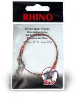 0,45mm Rhino Steel Trace 7x7 0,7m 17kg 2 pieces