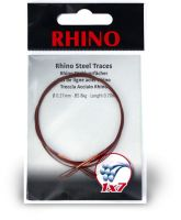 0,27mm Rhino Steel Trace 1x7 0,7m 8kg 2 pieces