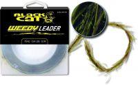 Weedy Leader 10m 100kg brown/green