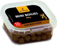 Mini Boilie, pre-drilled brown Chicken Liver 10mm 60g