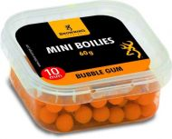 Mini Boilie, pre-drilled orange Bubble Gum 10mm 60g