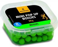 Mini Pop-up Boilie, pre-drilled green Mussel 8mm 30g