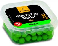 Mini Pop-up Boilie, pre-drilled green Mussel 10mm 30g
