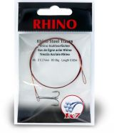 #1 Rhino Steel Trace 1x7 15kg 0,36mm 1 pieces 0,6m