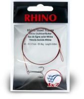 #8 Rhino Steel Trace 1x7 5kg 0,21mm 1 pieces 0,6m
