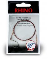 #1/0 Rhino Steel Trace 1x7 12kg 0,33mm 1 pieces 0,6m