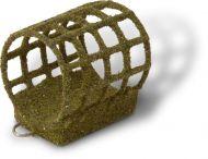 100g 4,0cm Coated Feeder L L olive green 2,8cm