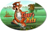 Sticker Tiger's Nuts 14,5cm 9,5cm