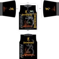 Browning Fishing & Radical Carp Shirt -M