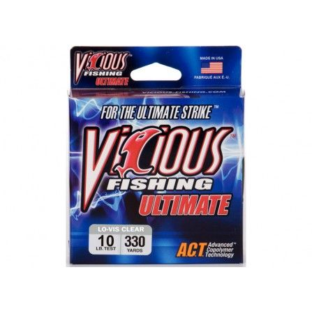 Vicious Ultimate 330 Yards Clear/Blue Fluores